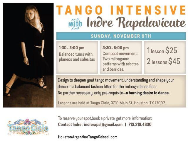 tango intensive