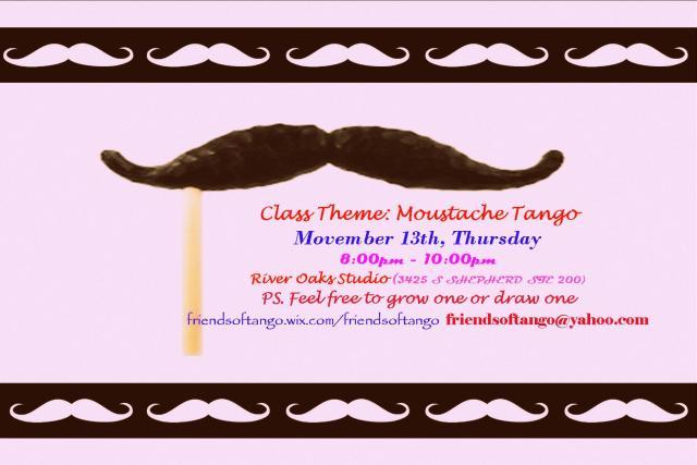Movember: Moustache Theme
