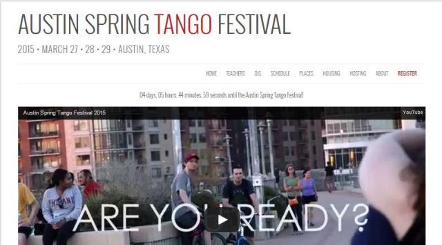 Austin Spring Tango Festival 2015